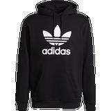 Adidas originals trefoil hoodie men's Men's Clothing Adidas Adicolor Classics Trefoil Hoodie - Black/White