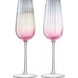Champagne Glasses LSA International Dusk Champagne Glass 25 cl 2 pcs