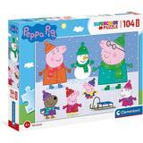 Clementoni Peppa Pig 104 Pieces