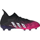 Adidas Junior Predator Freak.1 FG - Core Black/Cloud White/Shock Pink
