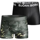 Björn Borg Boy's Digital Woodland XL Shorts 2-pack - Duck Green (2111-1224_81461)