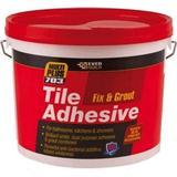 Building Materials EverBuild 703 Fix & Grout Tile Adhesive 1.5kg 1pcs