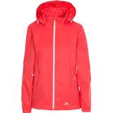 Women's Clothing Trespass Women's Sabrina Waterproof Jacket - Hibiscus