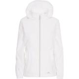 Rain Clothes Women's Clothing Trespass Women's Sabrina Waterproof Jacket - White