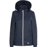 Women's Clothing Trespass Women's Sabrina Waterproof Jacket - Navy