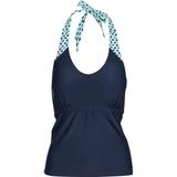 Swimwear Women's Clothing Trespass Winona Women's Halter Neck Tankini Top - Navy