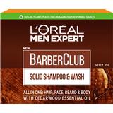Bath- & Shower Products L'Oreal Paris Men Expert Barber Club Solid Shampoo & Wash 80g