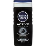 Bath- & Shower Products Nivea Men Active Clean Shower Gel 250ml