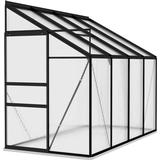 Lean-to Greenhouses vidaXL 312051 5.24m² Aluminum Polycarbonate