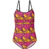 Swimwear Women's Clothing Trespass Lotty Women's Printed Swimming Costume - Pink Lady Print