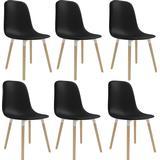 Kitchen Chairs on sale vidaXL 47x50.5x83cm 6-pack Kitchen Chair