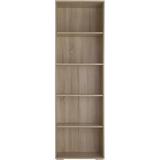 Book Shelves tectake 60x30x190cm Book Shelf