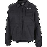 Jackets Women's Clothing Nike Sportswear Swoosh Woven Jacket - Black