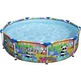 Freestanding Pool Bestway Steel Pro Paradise Frame Pool Ø2.74x0.66m