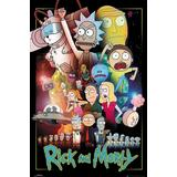 Posters GB Eye Rick and Morty 61x91.5cm Poster