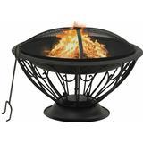 Fire Place vidaXL Fireplace with Fire Fork XXL 75cm
