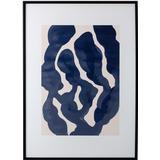 Framed Art Bloomingville Sivi 72x52cm Art