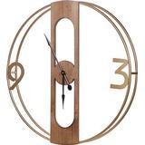 Wall Clocks Beliani Mulhouse 50cm Wall Clock