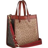 Handbags Coach Field Tote Bag - Brass/Tan Truffle Rust