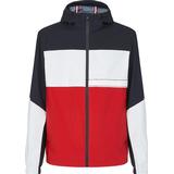 Outerwear Men's Clothing Tommy Hilfiger Tech Blocked Jacket - Desert Sky/Ecru/Primary Red