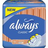 Menstrual Pads Always Classic Normal with Wings 10-pack