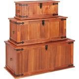 Chests vidaXL 247243 3-pack Chest