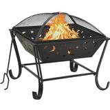 Fire Place vidaXL Fireplace with Fire Fork XXL 62cm