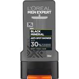 Body Washes L'Oreal Paris Men Expert Black Mineral Shower Gel 300ml