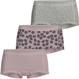 Knickers Björn Borg Graphic Floral Cotton Minishorts 3-pack - Burnished Lilac