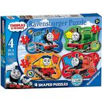 Ravensburger Thomas & Friends Big World Adventures Four Shaped Puzzles