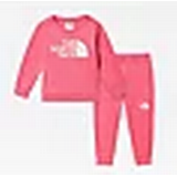 Children's Clothing The North Face Baby Surgent Crew Tracksuit - Prim Pink