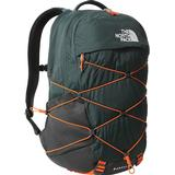 The north face borealis backpack Backpacks The North Face Borealis Backpack - Dark Sage Green/Red Orange
