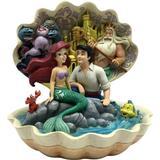 Disney Seashell Scenario The Little Mermaid Shell 21cm Figurine