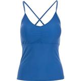 Swimwear Women's Clothing Trespass Martha Women's Tankini Top - Blue Moon Stripe