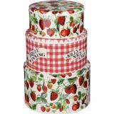 Emma Bridgewater Strawberries Biscuit Jar 3 pcs