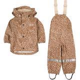 Rain set Children's Clothing Kuling San Marino Rain Set - Brown Leopard