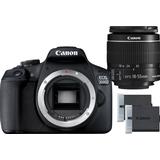 Canon EOS 2000D + 18-55mm IS II + LP-E10