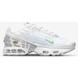 Nike tuned 1 Children's Shoes Nike Air Max Plus 3 PS - White/Aluminum/Black/Light Green Spark