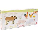 Wooden Figures Le Toy Van Sunny Farm Animals