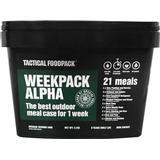 Freeze Dried Food Tactical Foodpack Weekpack Alpha 2080g