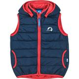 Finkid Light Quilted Vest - Navy/Red (1182001.56)