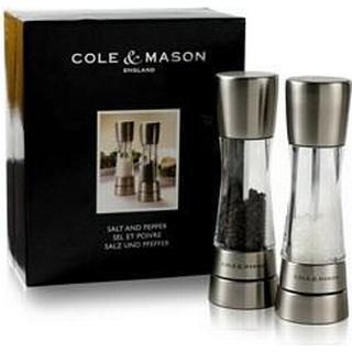 Cole & Mason Derwent Pepper Mill, Salt Mill 2 pcs 19 cm