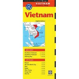Periplus Travel Maps Vietnam (Pocket, 2014), Pocket, Pocket