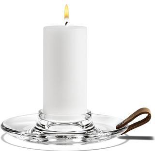 Holmegaard Design with Light Pillar 17cm Candlestick