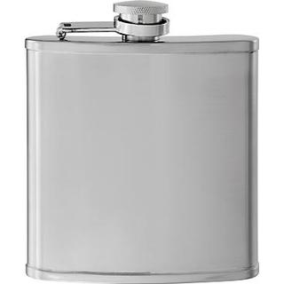 John Lewis Stainless Steel Hip Flask