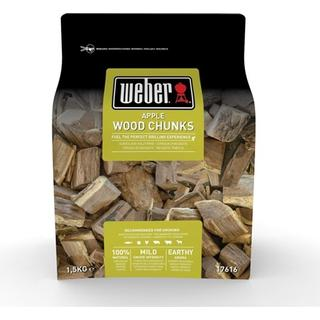 Weber Apple Smoking Wood Chunks 17616