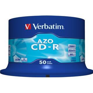 Verbatim CD-R Crystal 700MB 52x Spindle 50-Pack