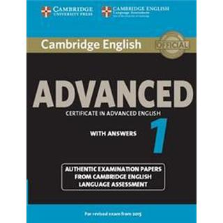 Cambridge English Advanced 1 with Answers (Pocket, 2014), Pocket
