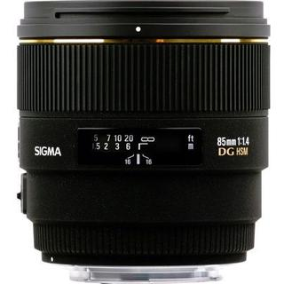 Sigma 85mm F1.4 EX DG HSM for Canon EF