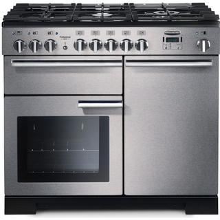 Rangemaster Professional Deluxe 100 Dual Fuel Stainless Steel